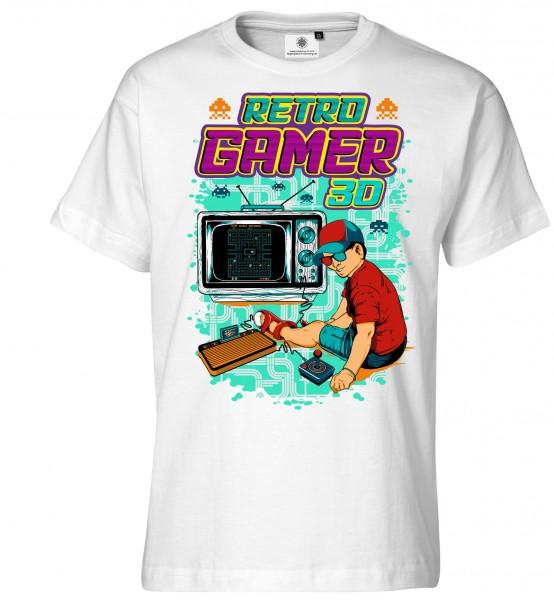 Bedrucktes Herren Videogames T-Shirt Retro Gamer