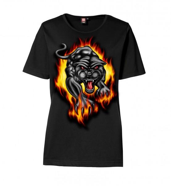 """Printed T-Shirt """"Miau"""" Ladies"""
