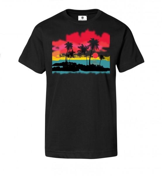 Bedrucktes Herren T-Shirt Sundowner