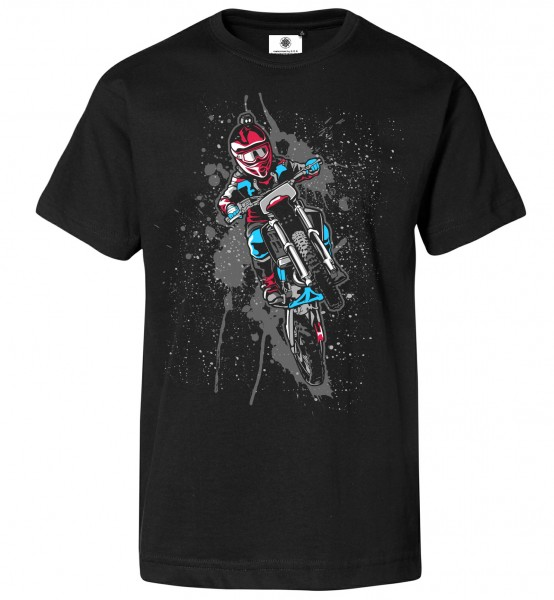Bedrucktes Herren Motocross Enduro T-Shirt Dirty Bike