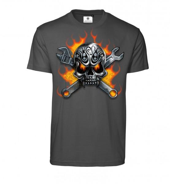 Bedrucktes Herren T-Shirt Hardcore Schrauber
