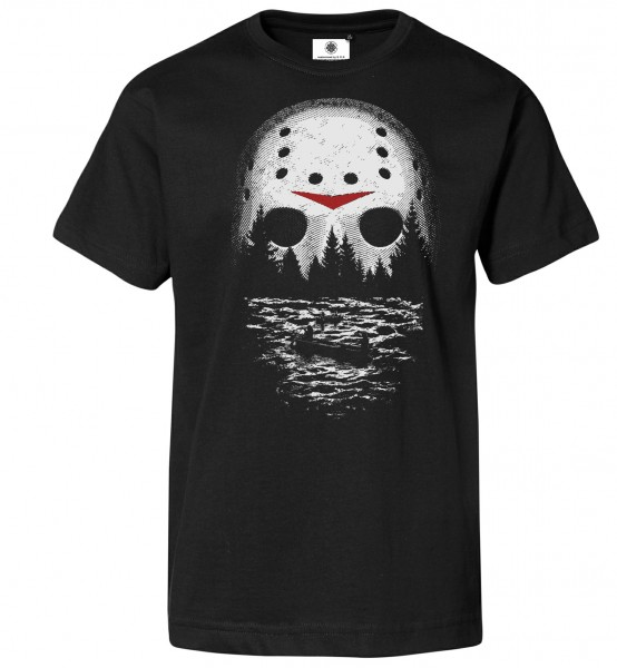 Bedrucktes Herren Freitag der 13. T-Shirt One Night at Crystal Lake