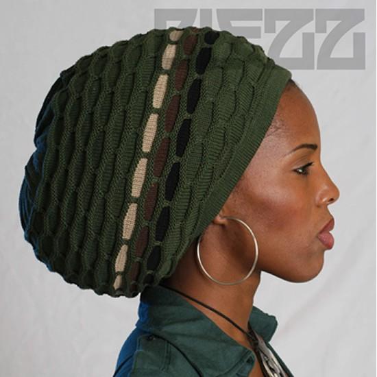 Blezz Hat - ABUJA 3-TONE, oliv,camouflage