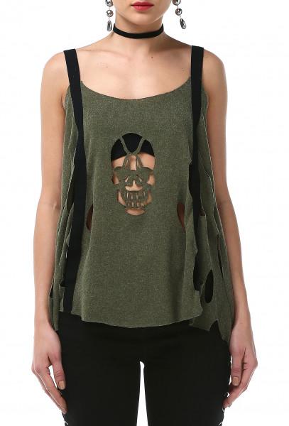 Ladies Rockupy Sleeveless Shirt