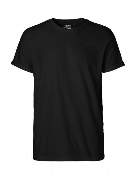 Neutral Mens Roll Up Sleeve T-Shirt