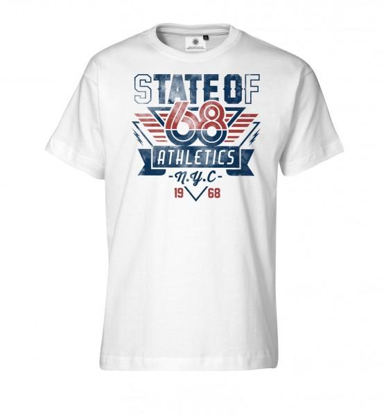 Bedrucktes Herren T-Shirt State of 68