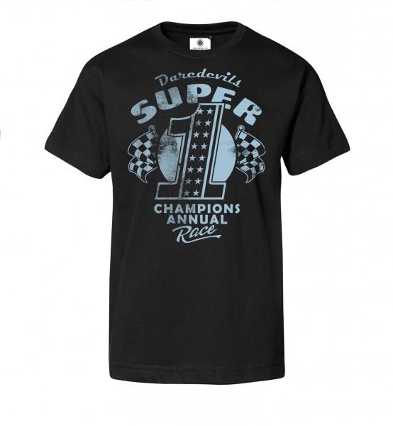 Bedrucktes Herren Racing T-Shirt Daredevils