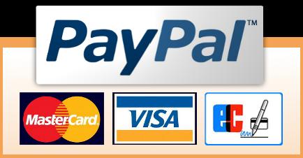 Zahlen Sie bequem und sicher auch per Lastschrift oder Kreditkarte mit PayPal Plus
